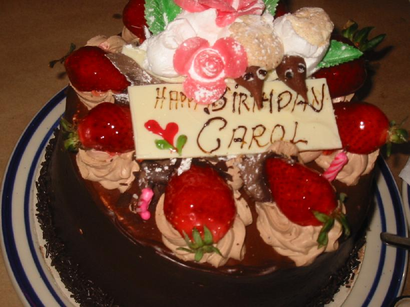 Happy Birthday Carol